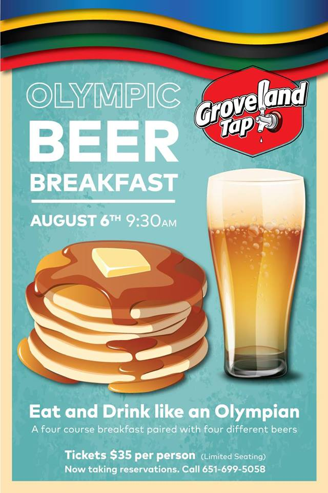 Olympic Beer Breakfast
