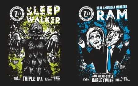 Sleepwalker (triple IPA) & RAM (Whiskey Barrel Aged Barleywine) Parking Lot Release Party