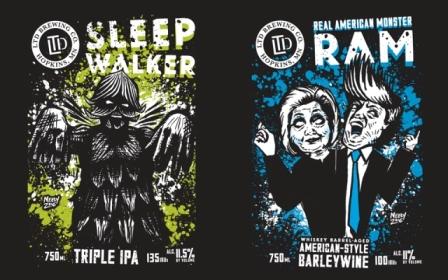 Sleepwalker (triple IPA) & RAM (Whiskey Barrel Aged Barleywine) Parking Lot Release Party