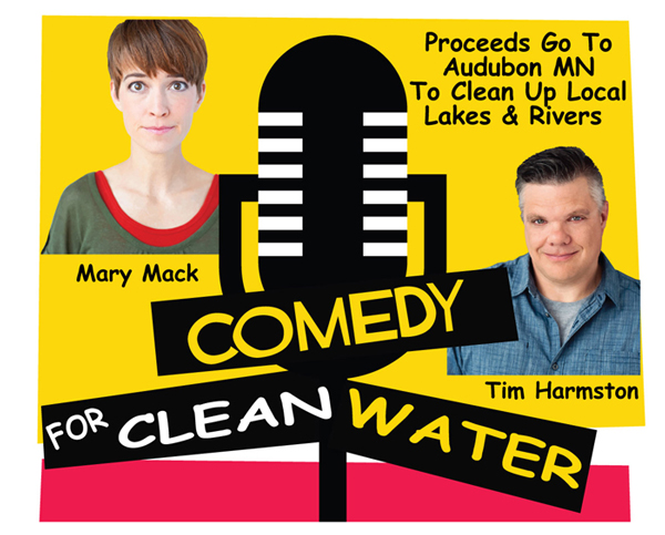 Comedy for Clean Water - Mary Mack and Tim Harmston