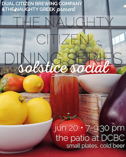 Naughty Citizen Dining Series: Solstice Social