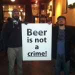 beer in not a crime