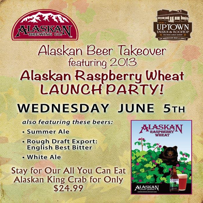 Alaskan Raspberry Wheat Release Party