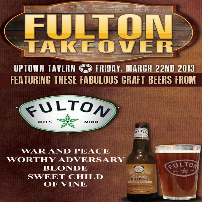 Fulton Tap Takeover