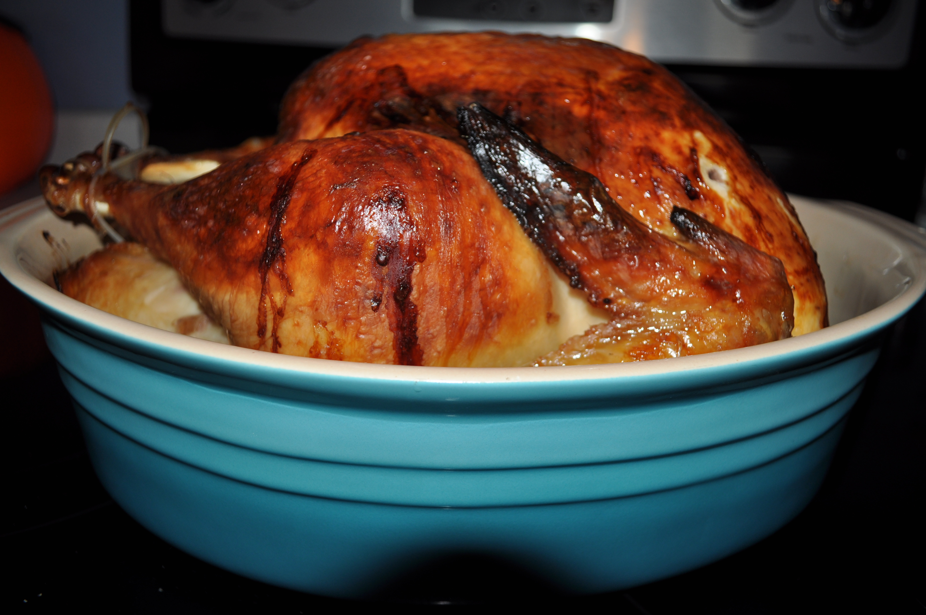 Roasted Beer Brined Turkey